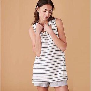 Lou & Grey Striped Blouse